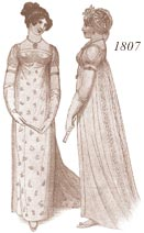 Ladies' 1807 costume